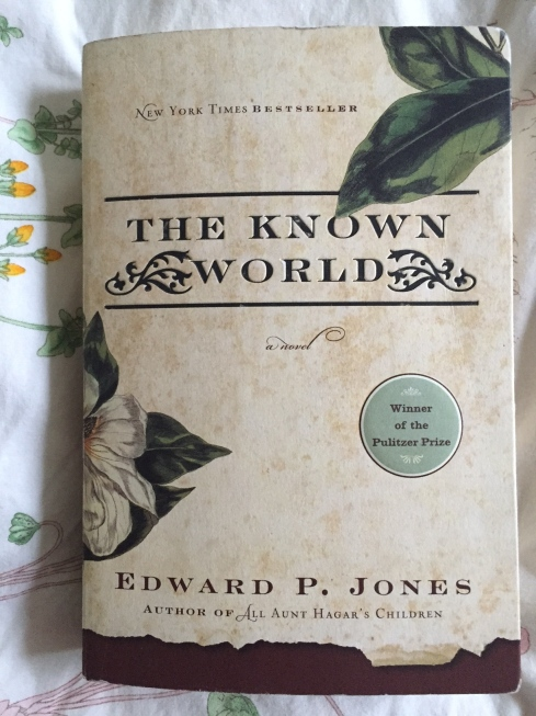 The Known World, Edward P Jones