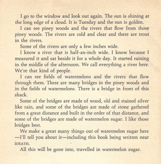 wedding passages from literature