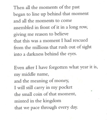 This Much I Do Remember, Billy Collins